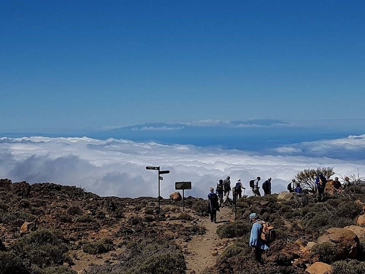 Tenerife2018 3 TeideAboveTheClouds